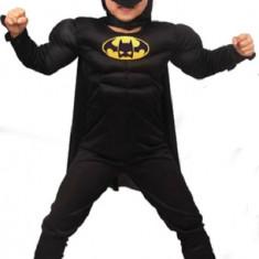 Costum Batman cu muschi 3 - 8 ani