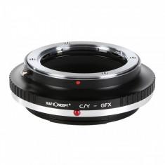 Kent Faith C/Y-GFX adaptor montura de la Contax Yashica la Fuji GFX-Mount