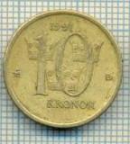 11693 MONEDA- SUEDIA - 10 KRONOR -ANUL 1991- MEDAL -STAREA CARE SE VEDE, Europa