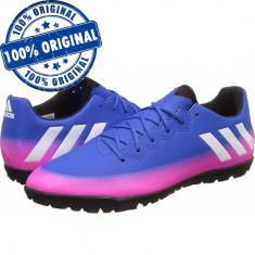 Pantofi sport Adidas Messi 16.3 pentru barbati - adidasi originali - fotbal, 40 2/3, 44 2/3, Albastru