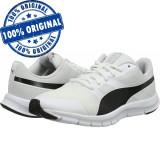 Pantofi sport Puma Flexracer pentru barbati - adidasi originali - alergare, 45, Alb, Textil