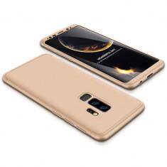 Husa 360 Grade Upzz Protection Samsung Galaxy S9+ Plus Gold