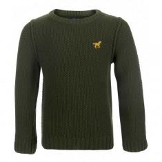 "Pulover Minoti tricotat ""Jumper"" verde pentru baieti"