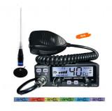 Kit Statie CB President Barry 2018 Power 4-20W cu antena Megawat ML145