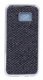 Husa Lux Fashion Glitter Samsung S7 Edge Silver Black