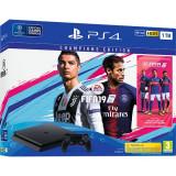Consola Sony Playstation 4 1Tb Slim + Fifa 19 Champions Edition Black