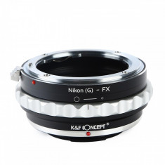 Kent Faith Nikon(G)-FX adaptor montura Nikon G la Fuji X-Mount