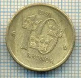 11692 MONEDA- SUEDIA - 10 KRONOR -ANUL 1991- MEDAL -STAREA CARE SE VEDE, Europa