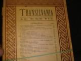 REVISTA TRANSILVANIA-NR-9-12/1921-CUVINT CATRA MARAMURESENI-, Alta editura
