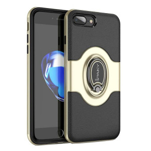 Husa Spate Ipaky Iring Magnetic iPhone 7 Plus / 8 Plus Gold