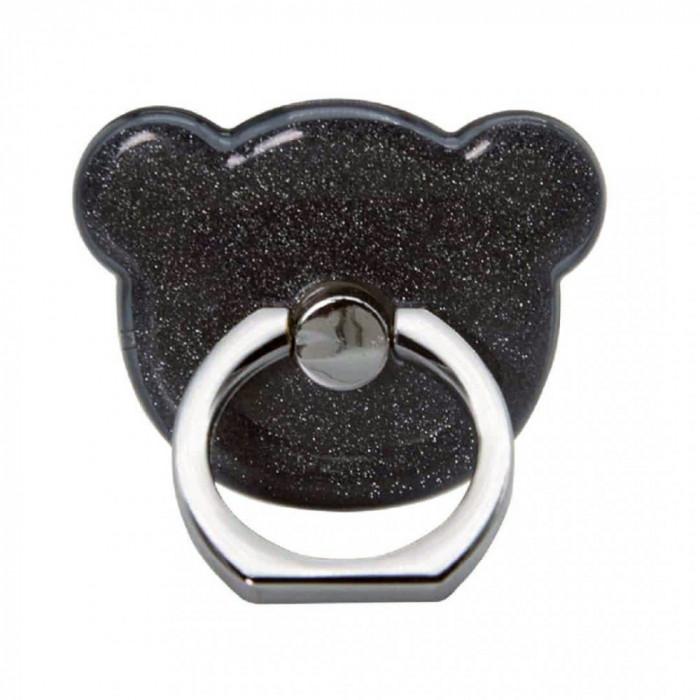 Suport Universal Tip Inel Iring Pentru Telefon Negru Ears
