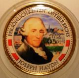 5.332 AUSTRIA PERSONALITATI JOSEPH HAYDN 50 EURO CENT 2011 COLOR, Europa