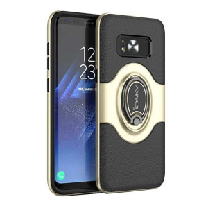 Husa Spate Ipaky Iring Magnetic Samsung S8 Gold