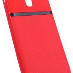 Husa Spate UPzz Auto Focus Silicon Soft Samsung J3 2017 Red