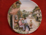 BRADEX FARFURIE DECORATIVA PORTELAN ROYAL DOULTON FINE CHINA OLD COUNTRY CRAFTS