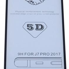 Folie Sticla 5d 0.3mm Full Glue Cover Samsung J3 2017 Negru