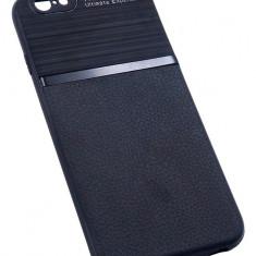 Husa Spate UPzz Auto Focus Silicon Soft iPhone 6 6s Black