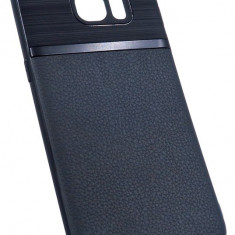 Husa Spate UPzz Auto Focus Silicon Soft Samsung S7 Edge Negru