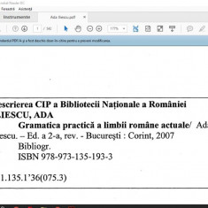 Gramatica Practica A Lb Romane Stefania Popescu Pdf