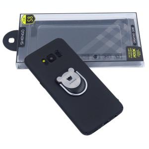 Husa Spate Hard Shengo Iring Samsung S8 G950 Negru