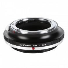 Kent Faith NIK-GFX adaptor montura de la Nikon AI la Fujifilm GFX-Mount