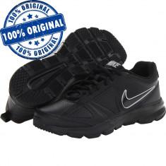 Pantofi sport Nike T-Lite 11 pentru barbati - originali - piele naturala, 40.5, Negru