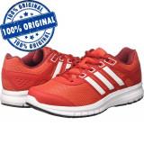 Pantofi sport Adidas Duramo Lite pentru barbati - adidasi originali - alergare, 45 1/3, Rosu, Textil