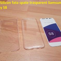 Husa Silicon fata spate trasparent Samsung Galaxy S8, Alt model telefon Samsung, Transparent