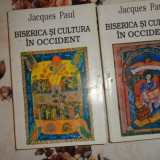 Biserica si cultura in occident 2 vol./an 1996/906pag- Jacques Paul