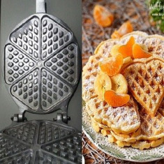 Forma prajituri Fagure Vafe Matrita prajituri 6 orificii