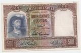 SPANIA 500 PESETAS 1931 VF