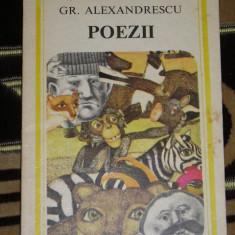 RWX 29 - POEZII - GRIGORE ALEXANDRESCU - EDITATA IN 1979