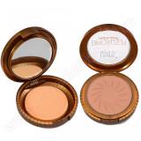 Trusa Bronzer Highlight cu buretel si oglinda #01 - Soft Brown, Fraulein38