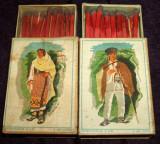 1933 Costume populare - 2 cutii chibrituri romanesti din lemn, Chibriturile SAR