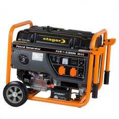 Generator benzina Stager GG 7300EW monofazat pornire electrica putere 6 kW