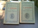 LEGENDE SAU BASMELE ROMANILOR - P. ISPIRESCU 2 volume