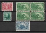 Lot timbre SUA, Nestampilat