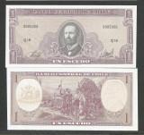 CHILE  1  ESCUDO  CHILIAN  1964  UNC  [1]  P-136 a.2b ,  necirculata