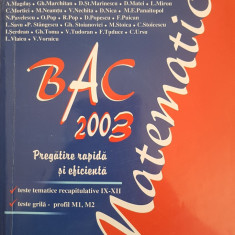 BAC 2003 PREGATIRE RAPIDA SI EFICIENTA - Alexe, Andrei