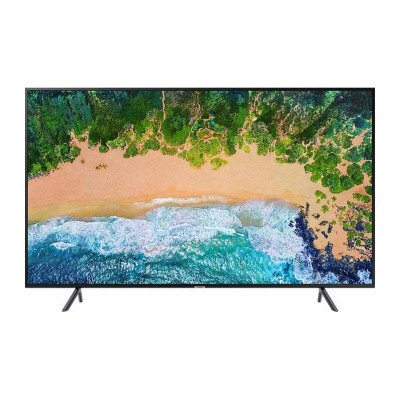 Televizor Samsung LED Smart TV UE55NU7102 139cm UHD 4K Black foto