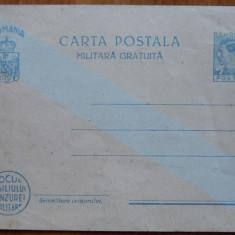 Carte postala militara gratuita Caril II si borderou , imprumutul de consolidare