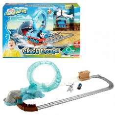 Jucarie baieti Thomas and Friends - Great Shark Adventure, Seturi complete, Fisher Price