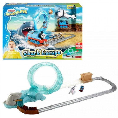 Jucarie baieti Thomas and Friends - Great Shark Adventure foto
