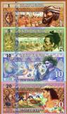 !!! PACIFIC STATES - FANTASY NOTES - 1 + 5 + 10 + 20 DOLARI 2018 - UNC/ POLIMER