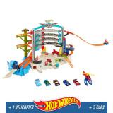 Jucarie baieti Hot Wheels Ultimate Garage, 4-6 ani, Plastic