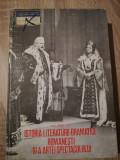 Virgil Bradateanu - Istoria literaturii dramatice romanesti si a artei ...[1979]
