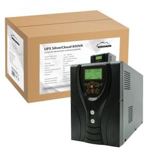 Resigilat : UPS SilverCloud 850VA cu ecran LCD sinusoida pura pentru centrale term