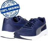 Pantofi sport Puma Meteor pentru barbati - adidasi originali - alergare, 42.5, 43, 46, Indigo, Textil