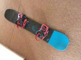 Snowboard Burton Custom Flying V 2018 + Legături Genesis EST + husă - noi nouțe