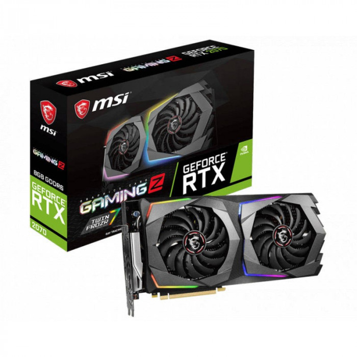 Placa video MSI nVidia GeForce RTX 2070 GAMING Z 8GB GDDR6 256bit